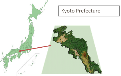 Kyoto Model Forest map