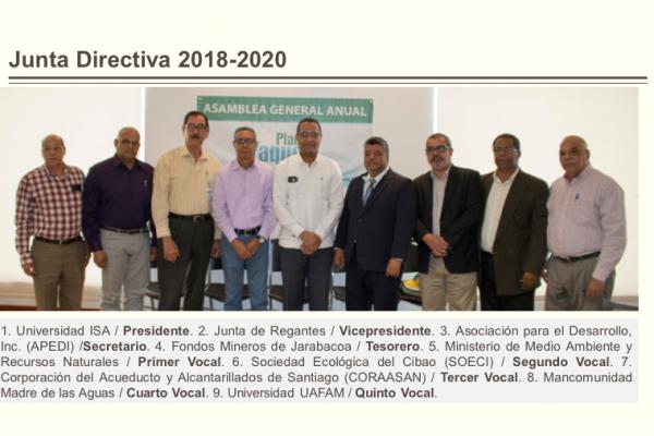 Board of directors - Yaque del Norte 2018-2020