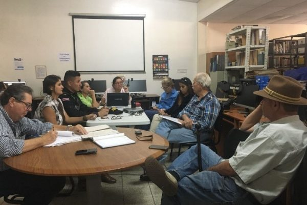 Local council of the protected area Cerros de la Carpintera. 2018