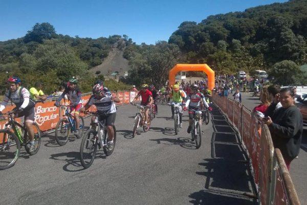 "Mountain bike event ""Eco clasica MTB Cartago entre Volcanes"". 2017 edition"